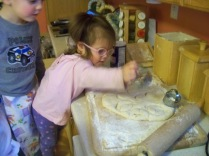 Kiley thinks she is cutting out biscuits too!