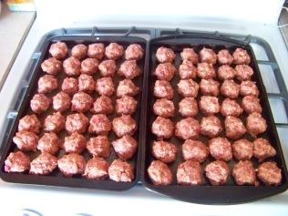 The meatballs