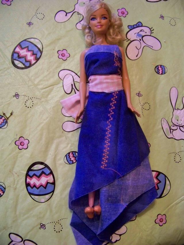 Her first dress