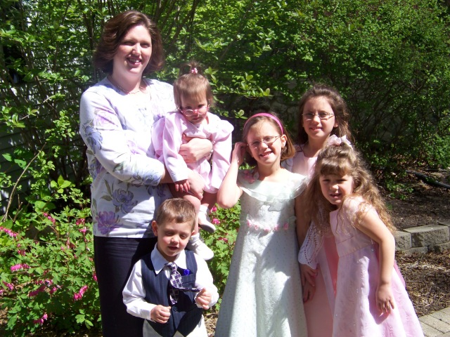 Easter, 2012--My  how the kids have grown!  Treasure the moments!