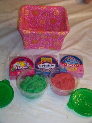 I included the playdoh in a present for my niece.